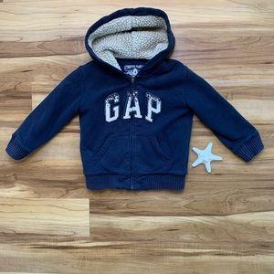 BabyGap Toddler Zip-Up Logo Hoodie, 4 Years